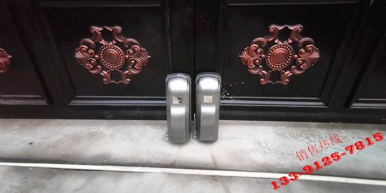 海宁私家别墅-ALCANO智能遥控轮式八字开门机PM180